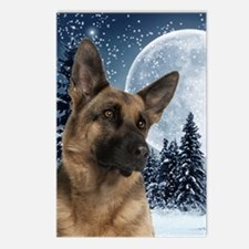 German Shepherd Postcards (Package of 8)