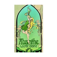 Absinthe Art Nouveau Decal