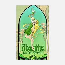 Absinthe Art Nouveau Decal