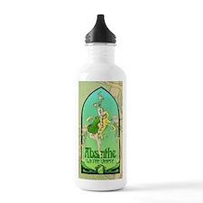Absinthe Art Nouveau Water Bottle
