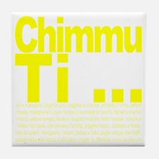 Chimmu Ti Tile Coaster