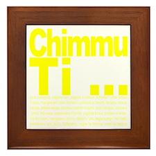 Chimmu Ti Framed Tile