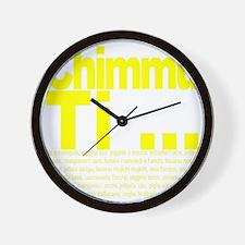Chimmu Ti Wall Clock