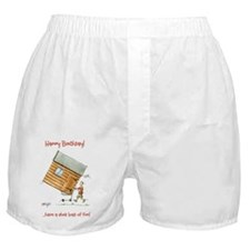 Happy Birthday - shed loads of fun Boxer Shorts