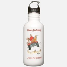 Happy Birthday  - fun  Water Bottle