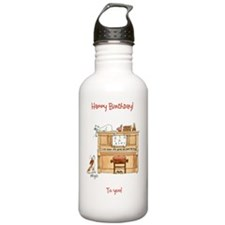 Happy Birthday - to yo Water Bottle