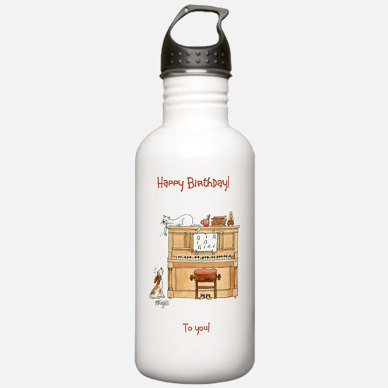 Happy Birthday - to yo Water Bottle