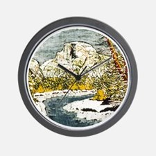 Half Dome Lover Wall Clock