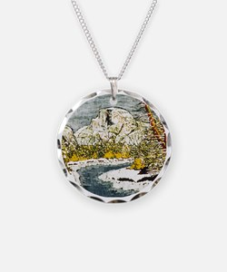 Half Dome Lover Necklace