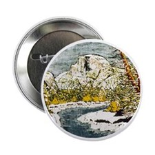 "Half Dome Lover 2.25"" Button"