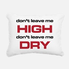The Bends High and Dry b Rectangular Canvas Pillow