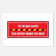 I'm the Bass Player Postcards (Package of 8)