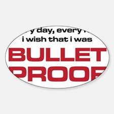 The Bends Bullet proof black and re Decal