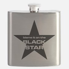 The Bends Black star large star Flask