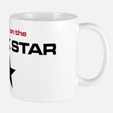 The Bends Black star small star Mug