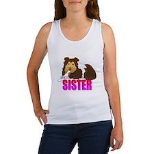 Shetland Sheepdog Sister Women's Tank Top
