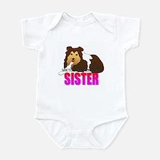 Shetland Sheepdog Sister Infant Bodysuit