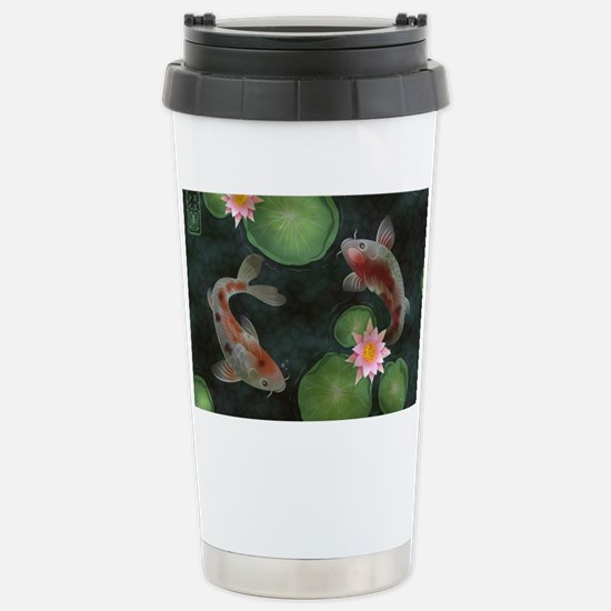 Koi Stainless Steel Travel Mug