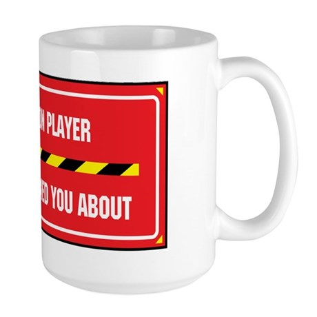I'm the Bassoon Player Large Mug