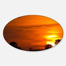 Sunset on Fire Decal