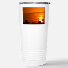Sunset on Fire Travel Mug