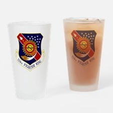 114th FW Drinking Glass