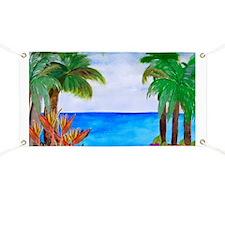 Caribbean Beach Banner