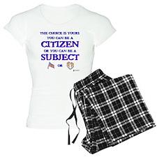Citizen or subject Pajamas