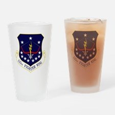 115th FW Drinking Glass
