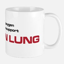 The Bends My Iron Lung black and red Mug