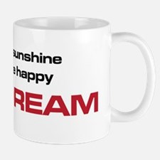 The Bends Nice Dream black and red Mug