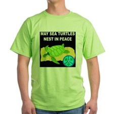 SEA TURTLES - NEST IN PEACE T-Shirt