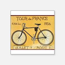 Tour de France, Bicycle, Vinta Sticker