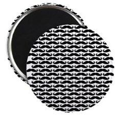 Mustache pattern Magnets