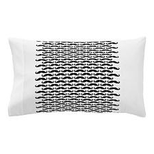Mustache pattern Pillow Case