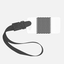 Mustache pattern Luggage Tag