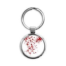 Zombies Round Keychain