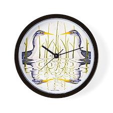 Blue Heron Lover Wall Clock