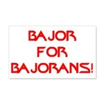 Bajor for Bajorans 20x12 Wall Decal