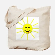 SMILEY FACE HAPPY SUNSHINE Tote Bag