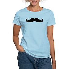 Funny black handlebar mustache T-Shirt