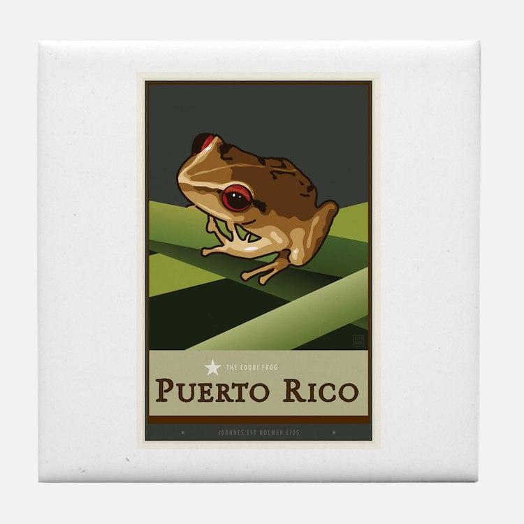 Puerto Rico II Tile Coaster