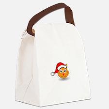Santa Cat Canvas Lunch Bag
