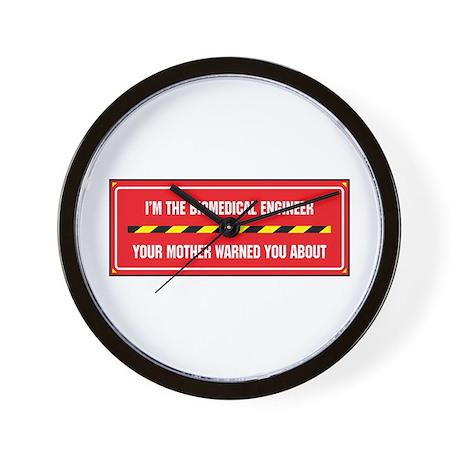 I'm the Biomedical Engineer Wall Clock