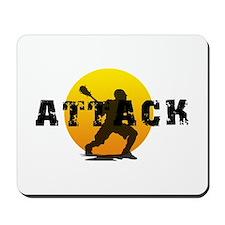 Lacrosse Attack Mousepad