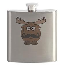 Moosestache Flask