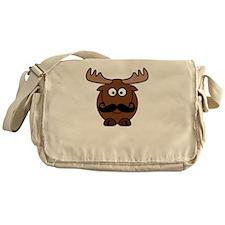 Moosestache Messenger Bag
