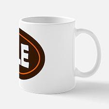 Cleveland Oval Mug