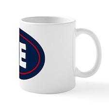 New England Oval Mug