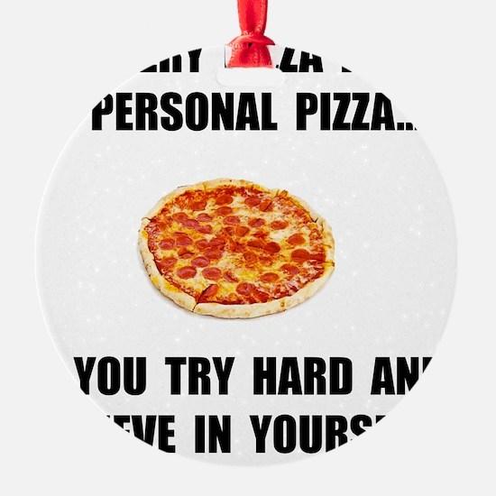 Personal Pizza Ornament